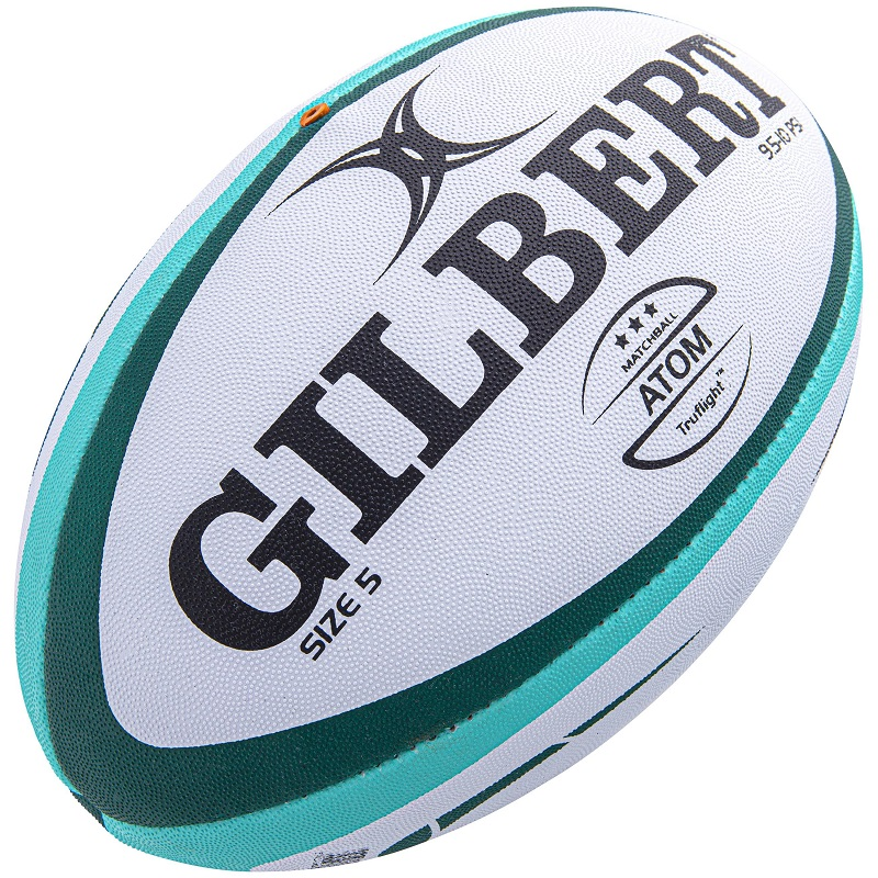 High Quality Gilbert Sportco Synthetic Hand Sewn Rugby Ball. The Ball is used in Major Indian and Sri Lankan Tournaments.