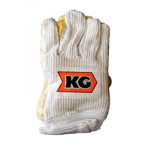 Best Quality Kay Gee Cricket County W/K Gloves, All Cotton, Cotton Padded. KG Chamois Test Inner Cotton Plain Highest Quality Wicket Keeping Gloves