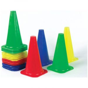 Field Space Marker Cones Manufactured from the highest quality moulded plastic, Pilot training cone maker Size- 2inches Comes in 5 different colour