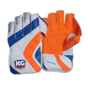 Best Quality Kay Gee Cricket County Wicket Keeping Gloves, All Cotton, Cotton Padded. Gold Highest Quality Original W/K Gloves