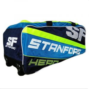 Cricket Kit Bag Full size with Wheels for Easy Transport. SF Hero Cricket Kit Bag latest colour Good Desingn SF Cricket Kit Bag