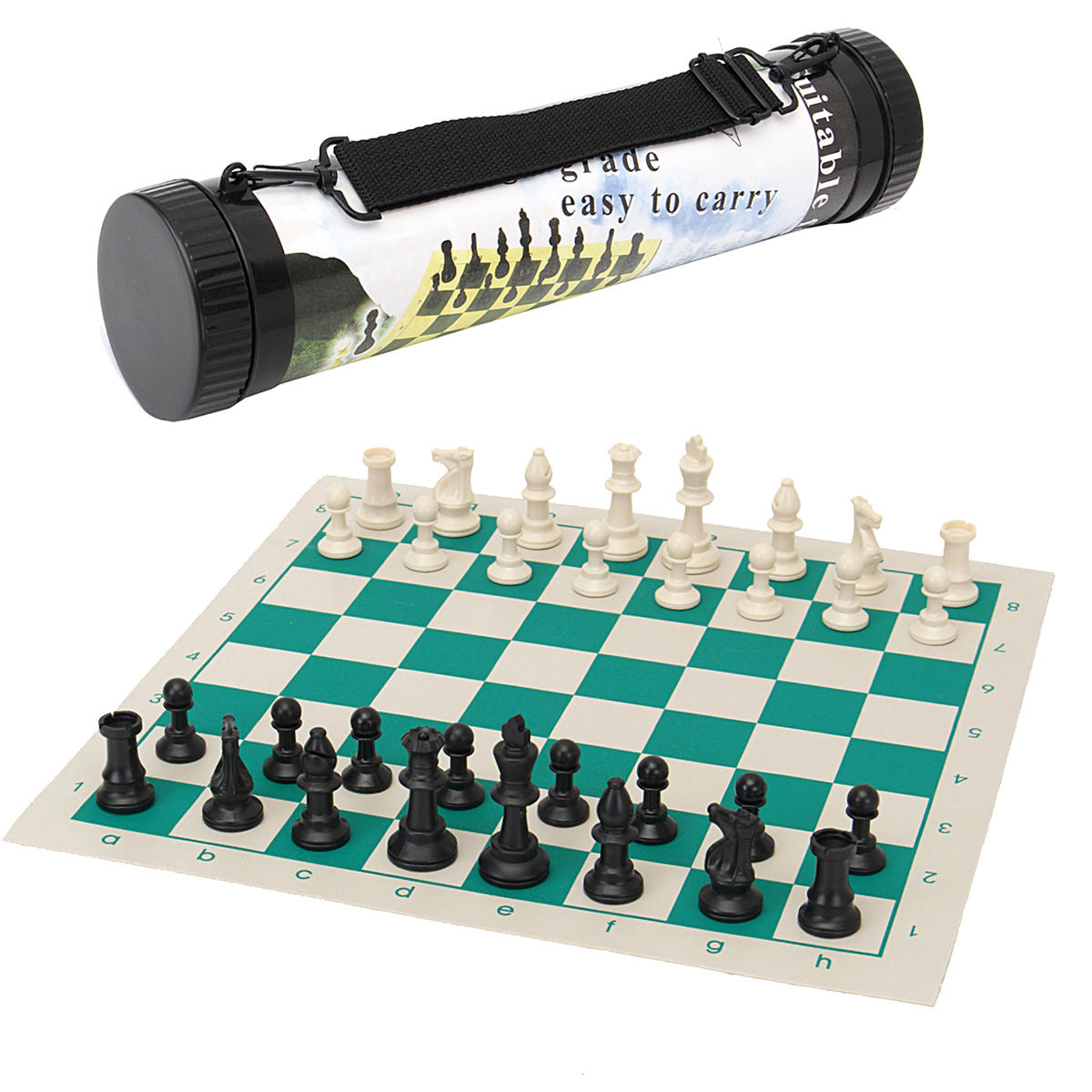 High-Class good quality chess set. island wide delivery. Chess Roll Set Child's Intelligence Game. Best for school children.