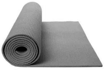 Yoga Mattress with Cover 4MM, Practice yoga or work out at home or the gym in comfort with this Non-slip Exercise Mattress.