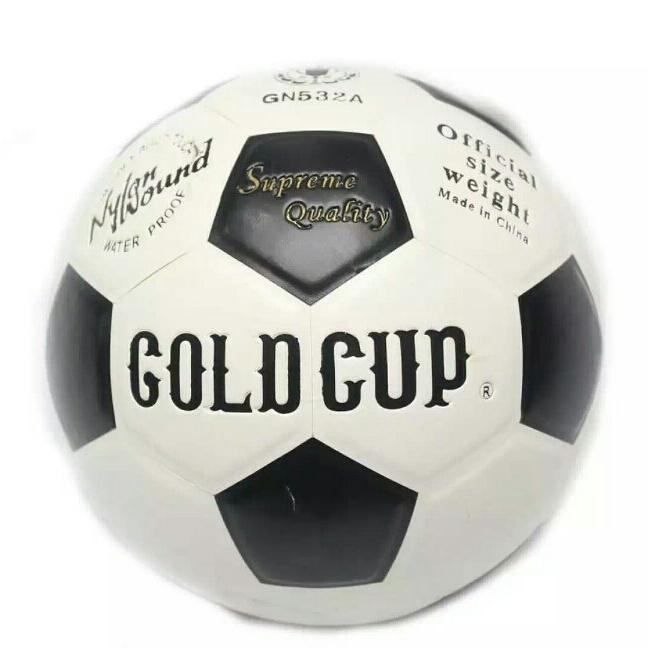 Gold Cup Entry Level Training Football made with Imported PVC, Machine Stitched, Soft Touch and available in Vibrant Colors and Designs.