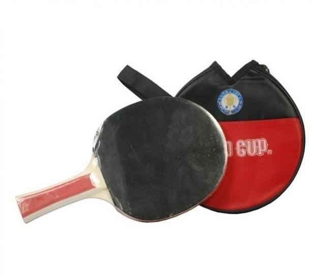 Table Tennis Racket Gold Cup, The Peak is the optimum choice for control players who want to develop their own style.