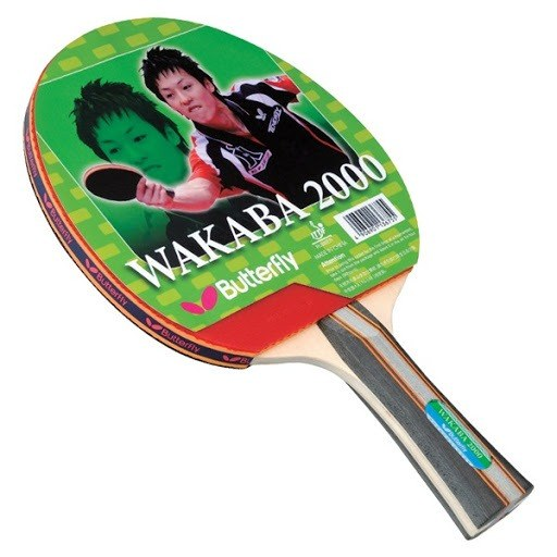Table Tennis Racket Butterfly (Wakaba 2000), The Peak is the optimum choice for control players who want to develop their own style.