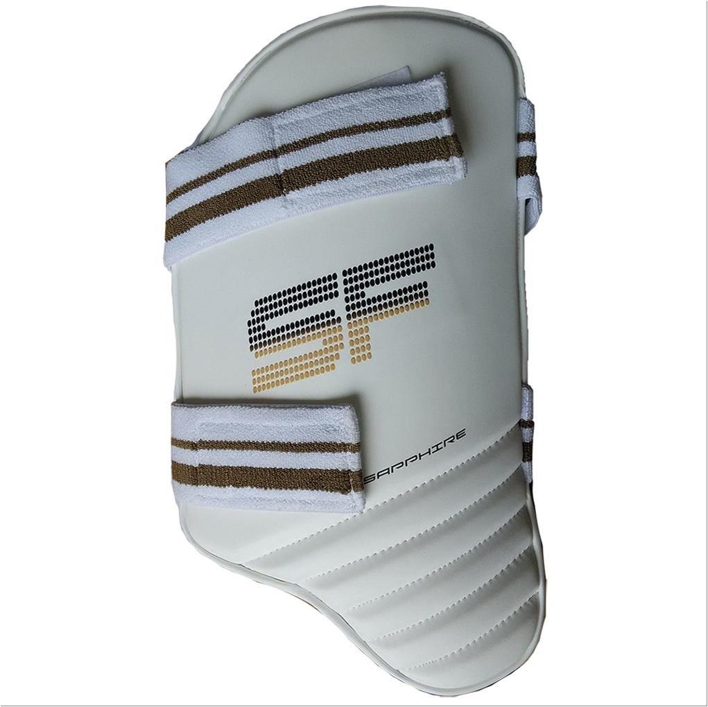 Best Quality Stanfords Sapphire Cricket Thigh Pad or Thigh Guard is Cotton face, Plastazote Padded.Stanfords Thigh Guard Buy Online Sri Lanka